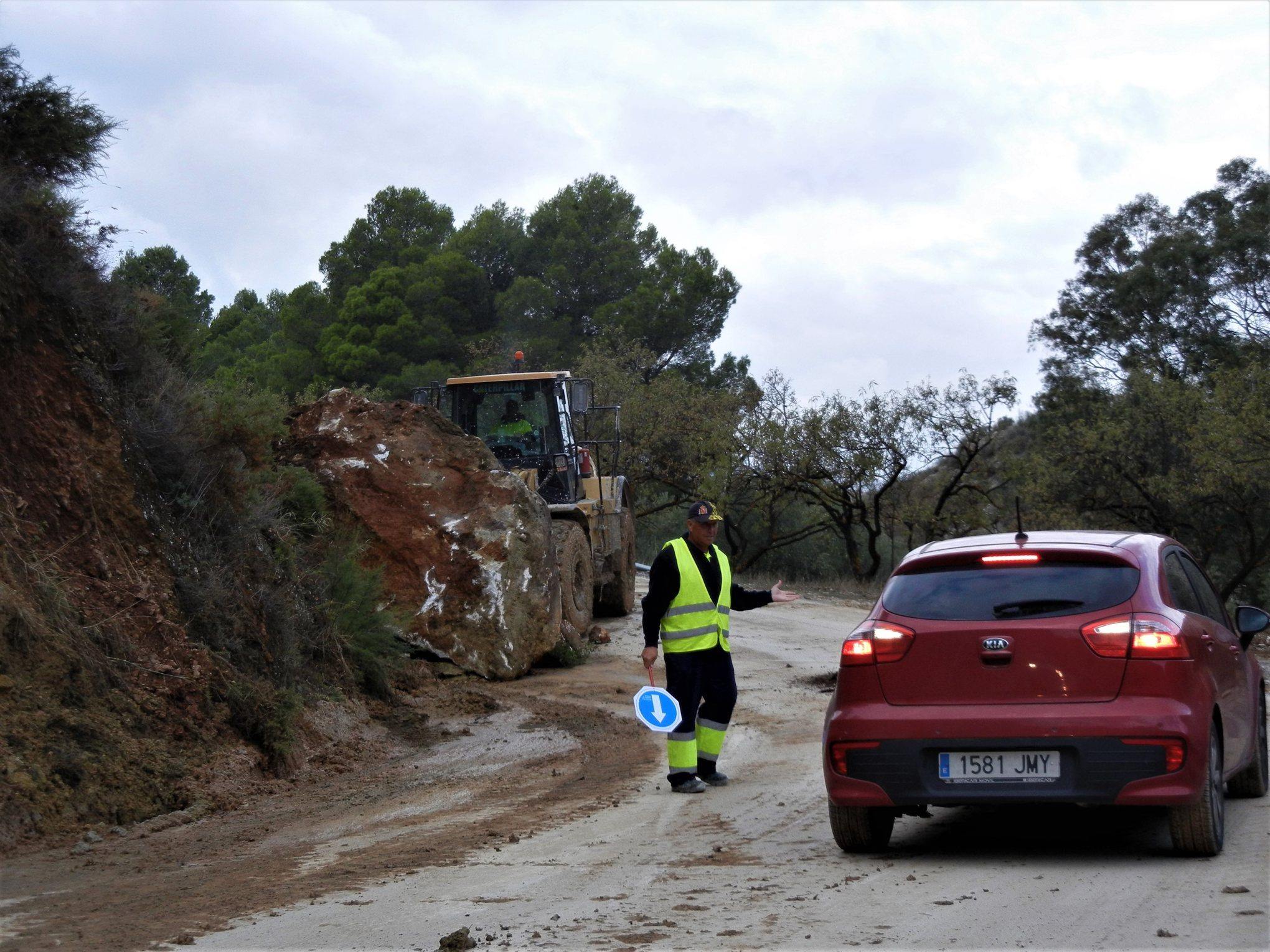 Španělsko, silnice z Ell Chora do Ardales