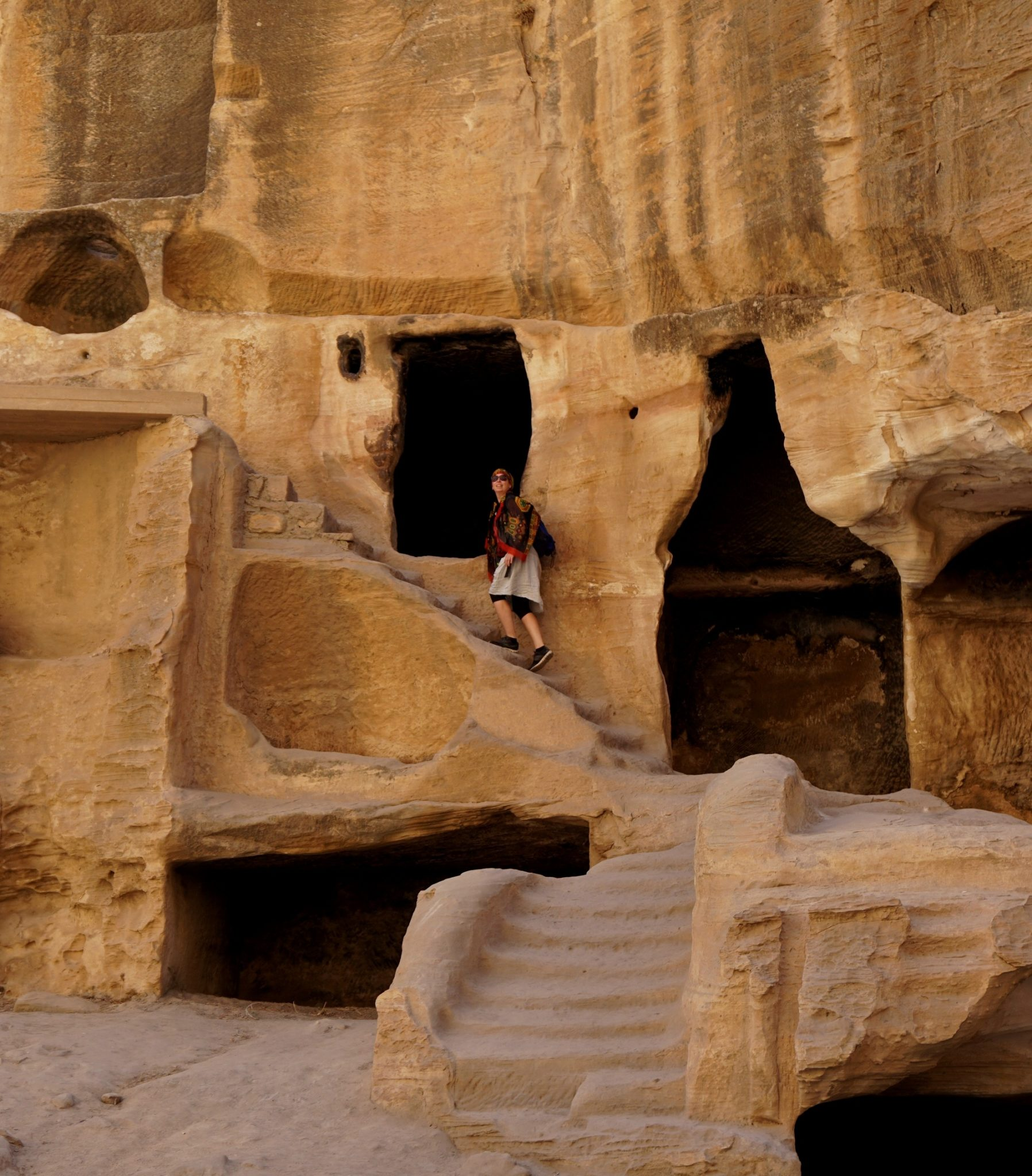 Jordánsko, krása Malé Petry