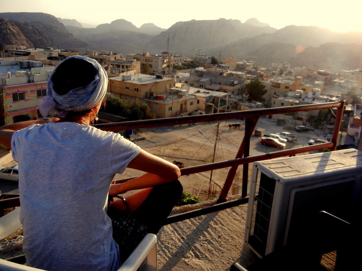 Jordánsko, vesnice Umm Sayhoun