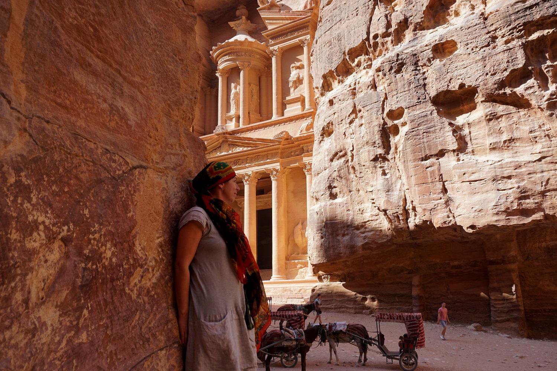Jordánsko - Pokladnice (Petra)
