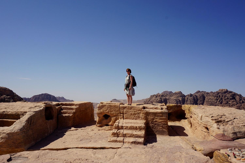 Jordánsko - Obelisk (Petra)