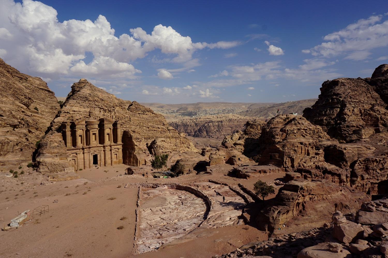 Jordánsko - Ad-Deur Monastery (Petra)