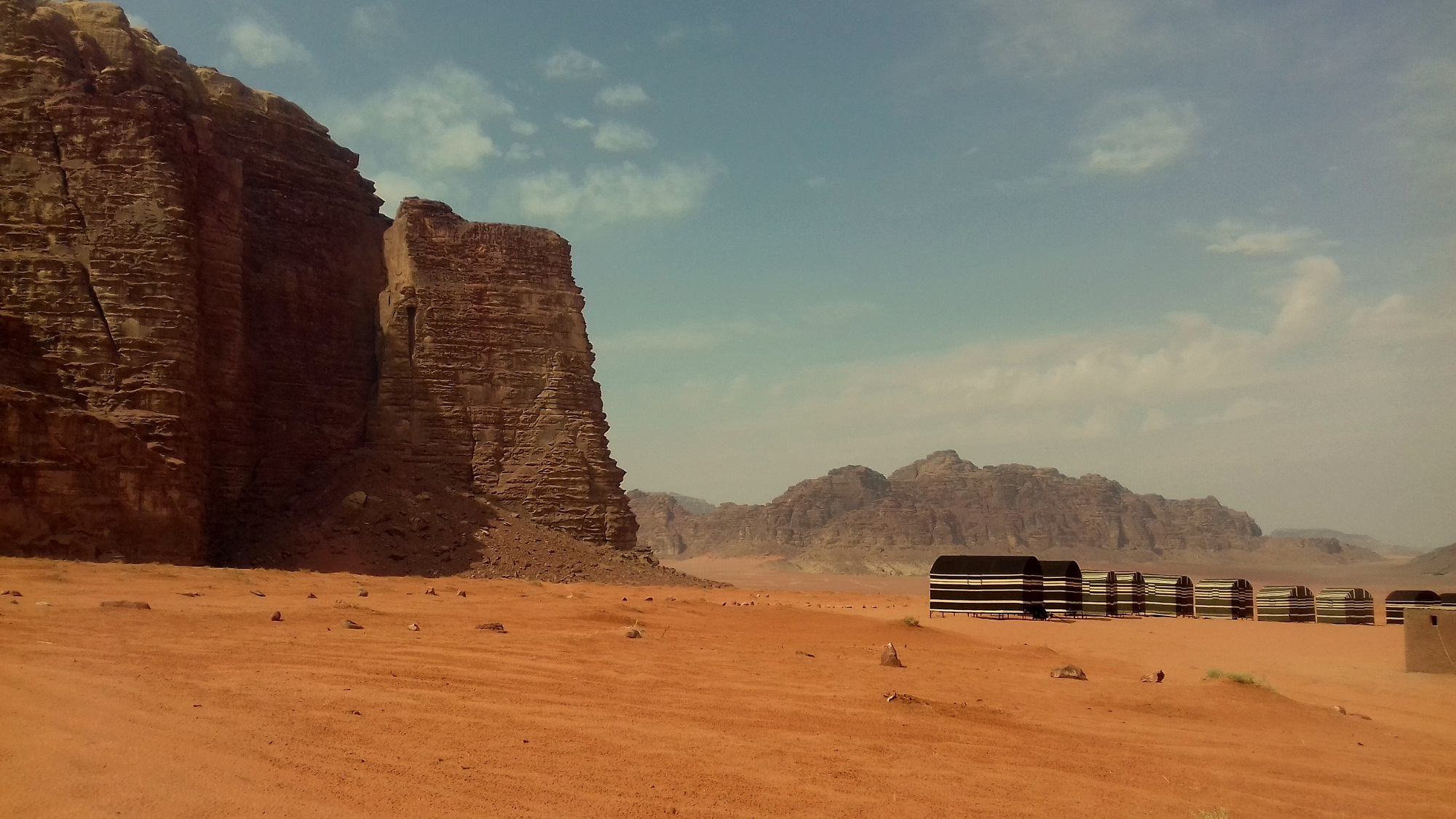 Jordánsko - Wadi Rum