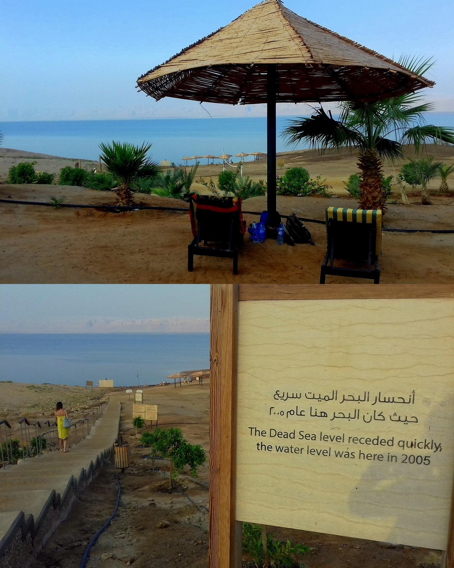 Jordánsko - Mrtvé moře