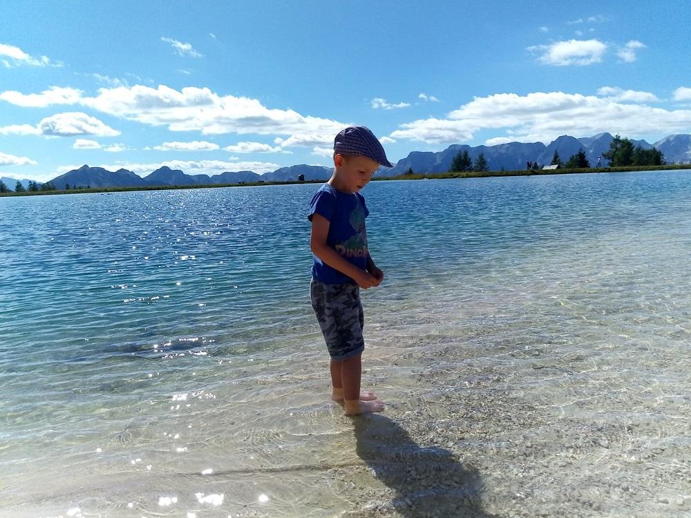 Hinterstoder, jezero Schafkogelsee